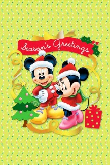 Blogmas Day 22 Disney Christmas Phone Wallpapers