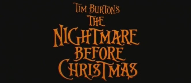 52. Nightmare Before Christmas